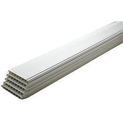 White Cladding 2400x100x10mm Pack Of 5 Departments Diy