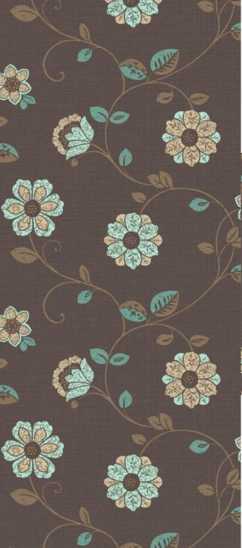 Colours by BandQ Meera Wallcovering Chocolate 10m