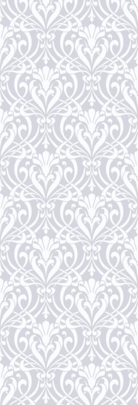 Colours by BandQ Nouveau Wallcovering White and