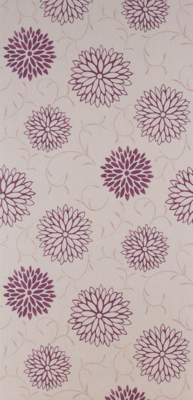 Colours by BandQ Romantic Wallcovering Raspberry