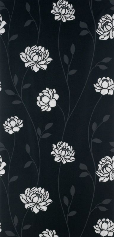 Colours by BandQ Sienna Wallcovering Black and