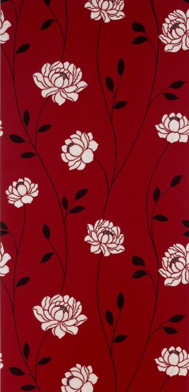 Colours by BandQ Sienna Wallcovering Red 10m
