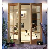 Save on this Rio Hardwood 10 Light Glazed French Door Set 1800mm BQRIO18PSC