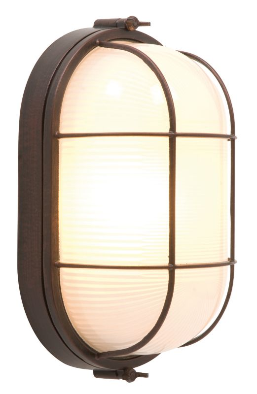 B Amp Q Vema Outdoor Wall Light In Brushed Bronze Effect Wall