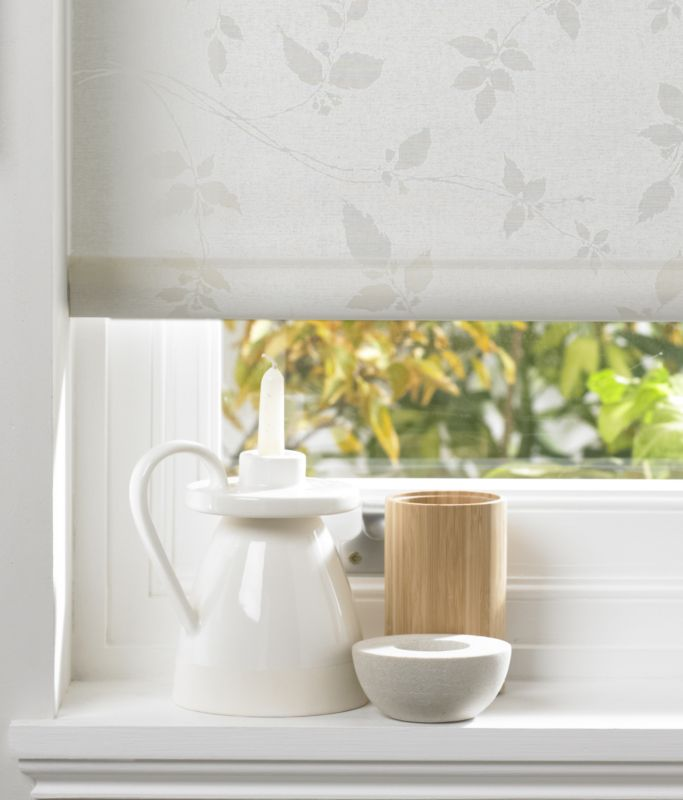 Colours by BandQ Leaf Trail Roller Blind Natural