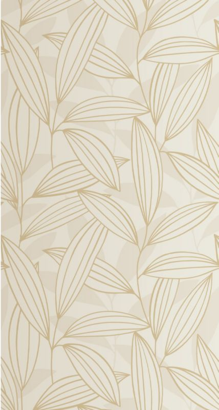 Colours by BandQ Carolyn Wallcovering Cream 10m
