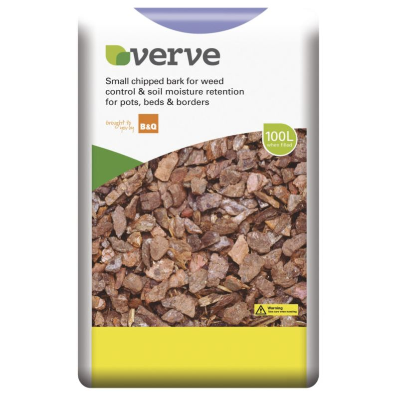 Verve Small Chipped Bark 100L