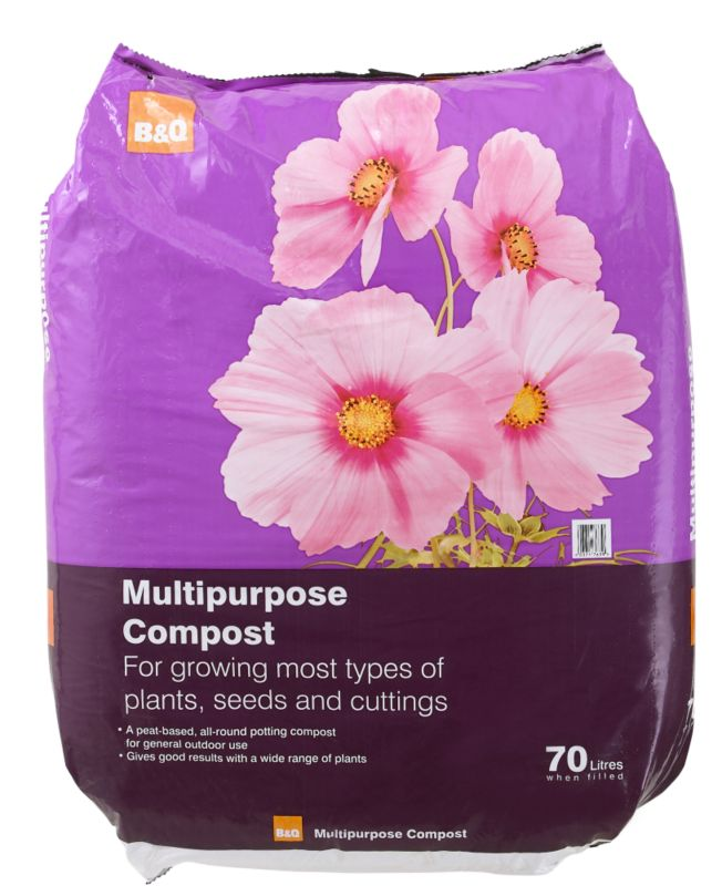 B&Q Multipurpose Compost 70L