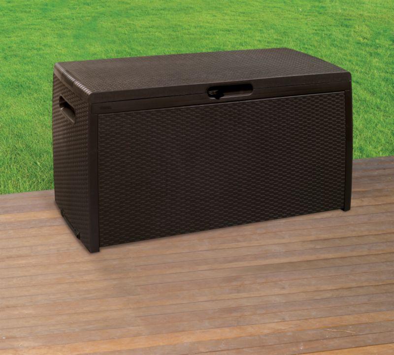 BandQ Rattan Style Storage Box