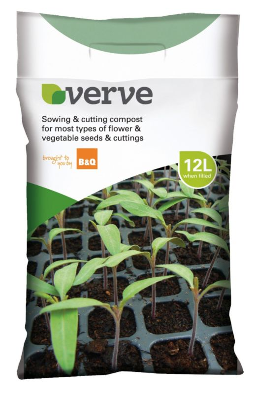 Verve Sowing & Cutting Compost 12L