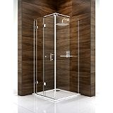 Save on this Cooke & Lewis Cascata Bi-Fold Door Shower Enclosure (H)1995 x (W)760 x (D)760mm