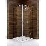Save on this Cooke & Lewis Cascata Pivot Door Shower Enclosure (H)1995 x (W)760 x (D)760mm