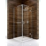 Save on this Cooke & Lewis Cascata Pivot Door Shower Enclosure (H)1995 x (W)800 x (D)800mm