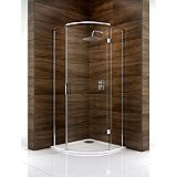 Save on this Cooke & Lewis Cascata Quadrant Shower Enclosure (H)1995 x (W)800 x (D)800mm Clear Glass