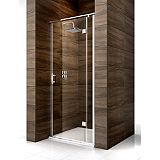 Save on this Cooke & Lewis Cascata Hinged Door Shower Enclosure Smoked Glass(W)900 x (D)900 x (H)1995mm