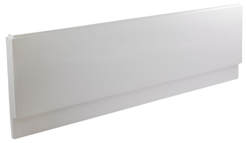 Front Bath Panel White (L)1700 x (D)510mm