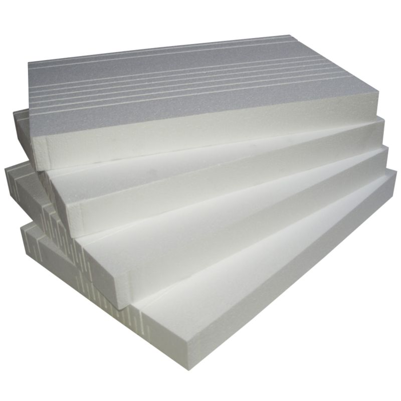 B&Q Rafter Insulation Pack White (W) 402 x (L) 610 x (D) 60mm (4 Board Pack)