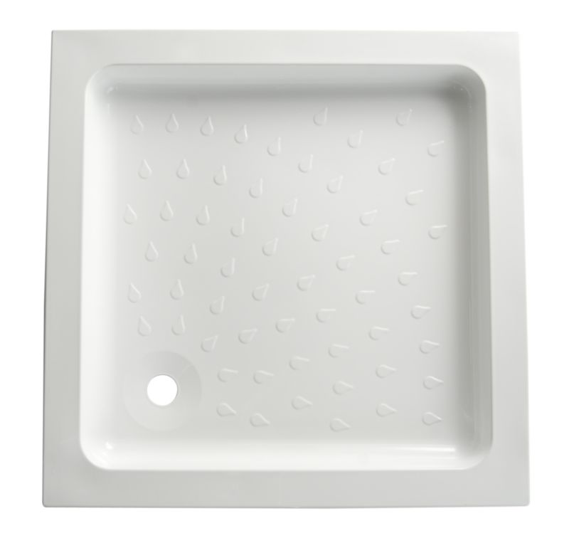 Cast Stone Square Shower Tray (W)800 x (D)800mm