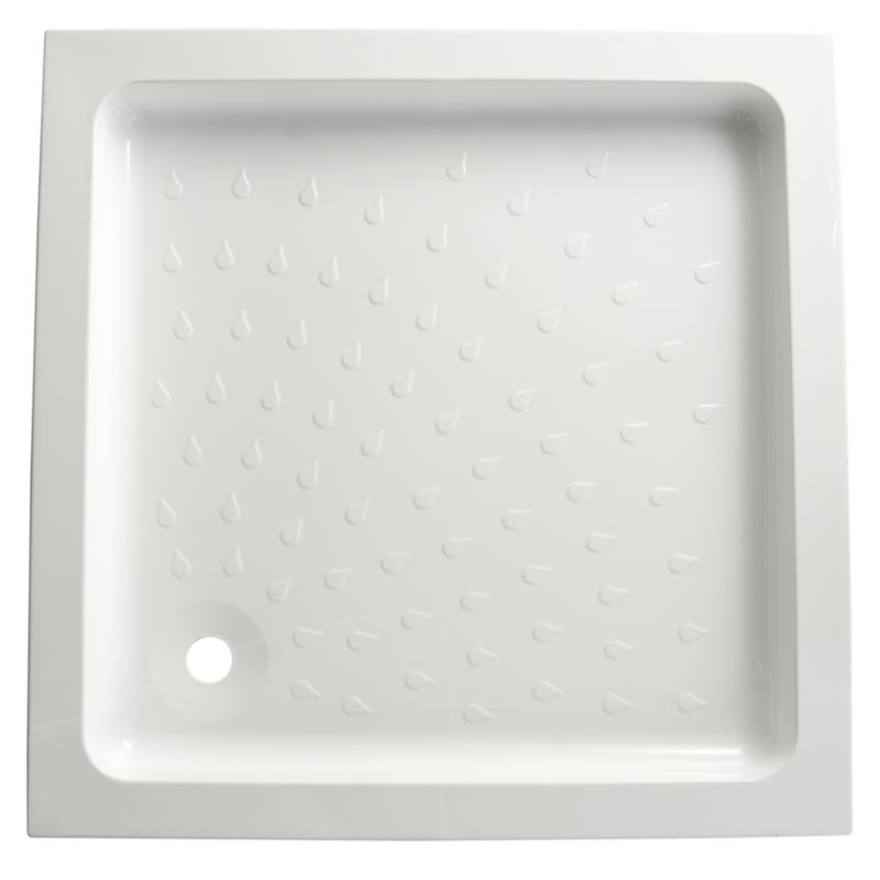 Cast Stone Square Shower Tray (W)900 x (D)900mm