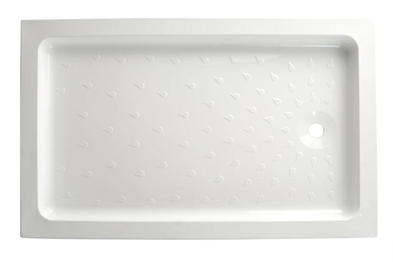 Cast Stone Rectangular Shower Tray (W)1200 x