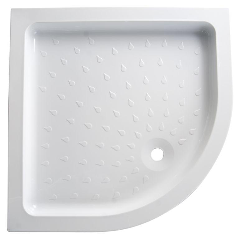 Cast Stone Quadrant Shower Tray (W)900mm x