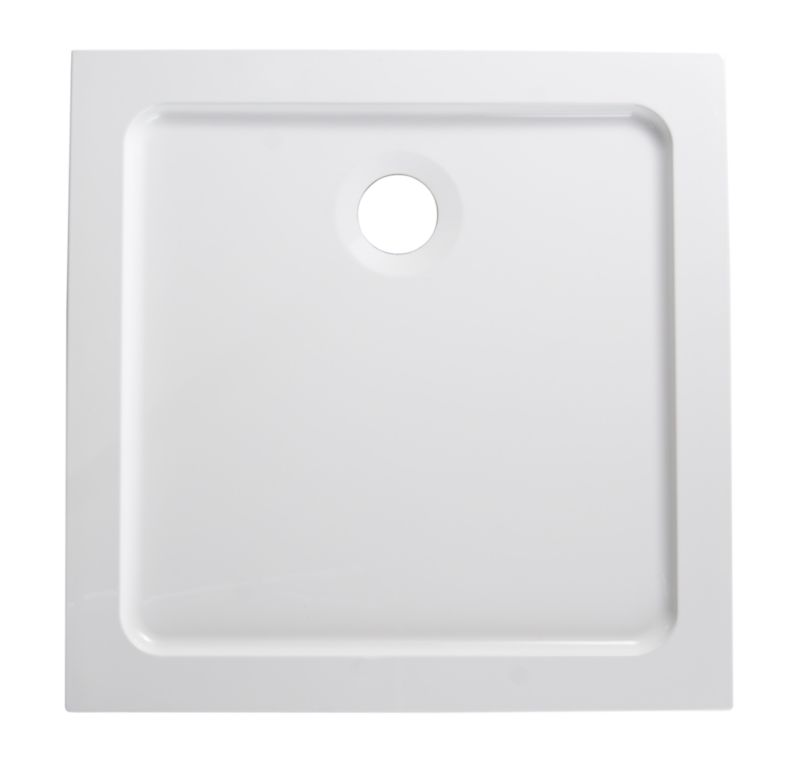 ResinLite Square Shower Tray (W)760 x (D)760mm
