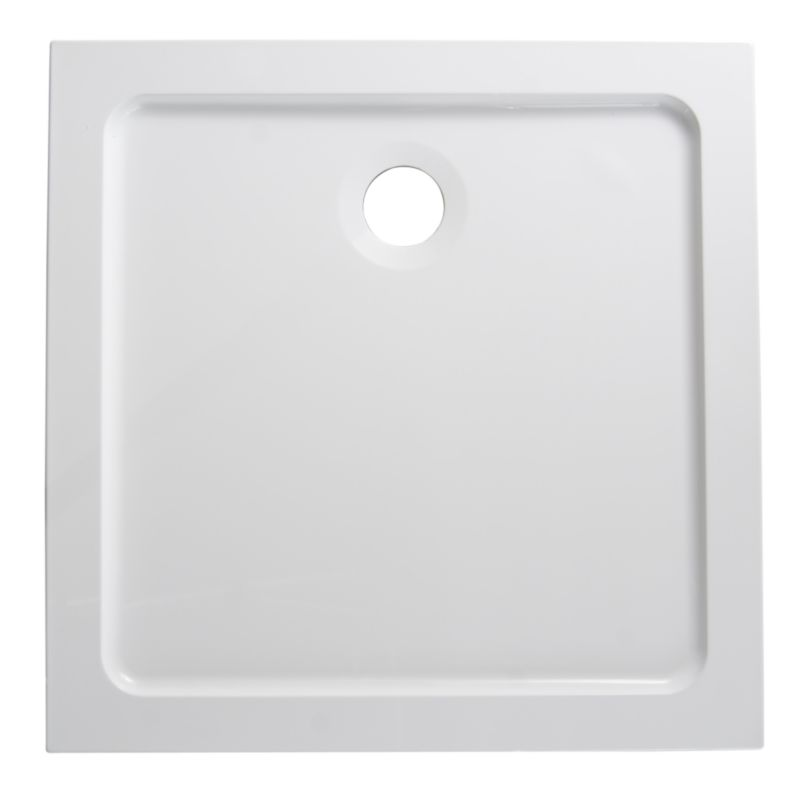 ResinLite Square Shower Tray (W)800 x (D)800mm