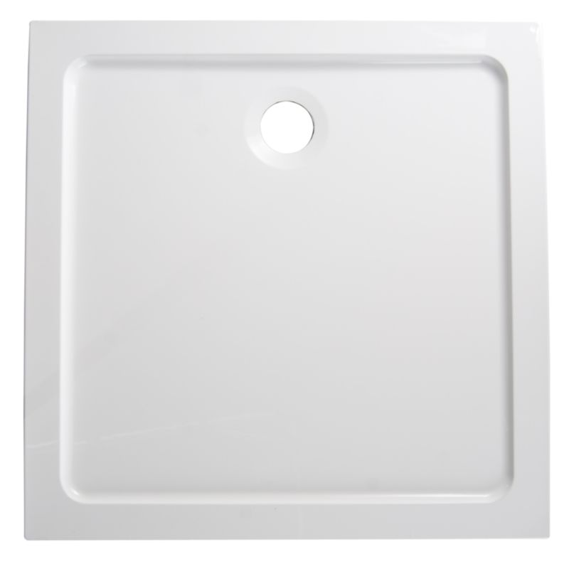 ResinLite Square Shower Tray (W)900 x (D)900mm
