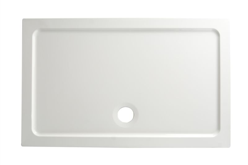 ResinLite Rectangular Shower Tray (W)1200 x