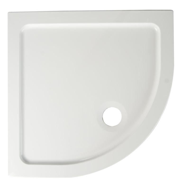 ResinLite Quadrant Shower Tray (W)800 x (D)800mm