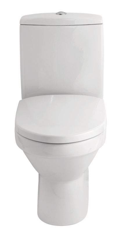 Cooke & Lewis Luciana Close-Coupled Toilet With Soft Close Seat