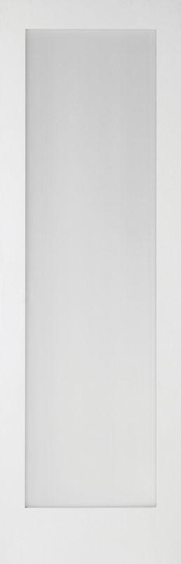 B&Q 6 Door Room Divider - Primed 1 Light Glazed White 366cm (W)