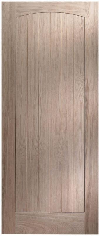 Cottage Panelled Oak Veneer External Door 1981 x 838mm