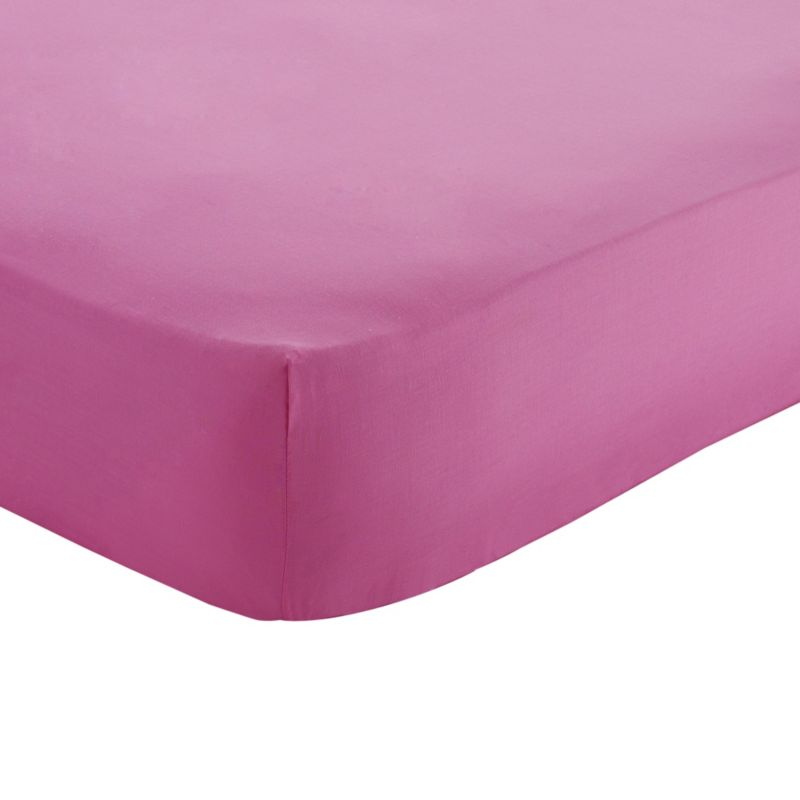 Single Fitted Sheet Fuchsia