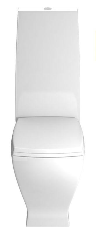 Cooke & Lewis Antonio Close-Coupled Toilet with White Gloss Soft Close Seat