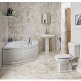 Save on this Cooke & Lewis Somerville Bathroom Suite With Whirlpool