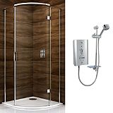 Save on this Cooke & Lewis Cascata Qudrant Enclosure with Mira Escape Shower