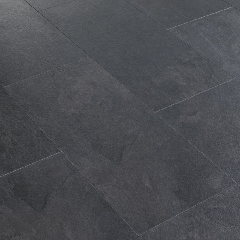 shopping at b q black slate tile effect laminate flooring natural