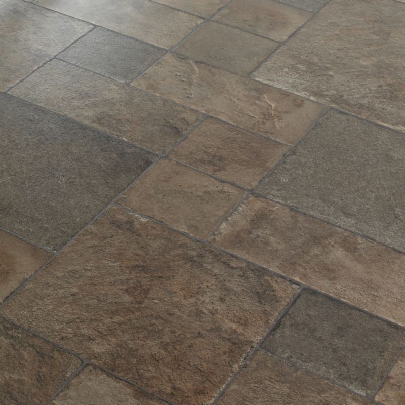 Random stone effect laminate flooring wood floors for Rock laminate flooring