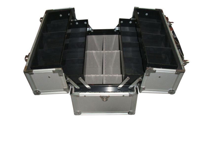 BandQ Aluminium Storage Case Silver Effect