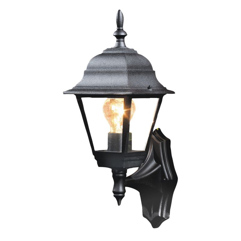 Outdoor Lamp Post B Q: B&Q Penarven Outdoor Wall Light In Black Wall Light
