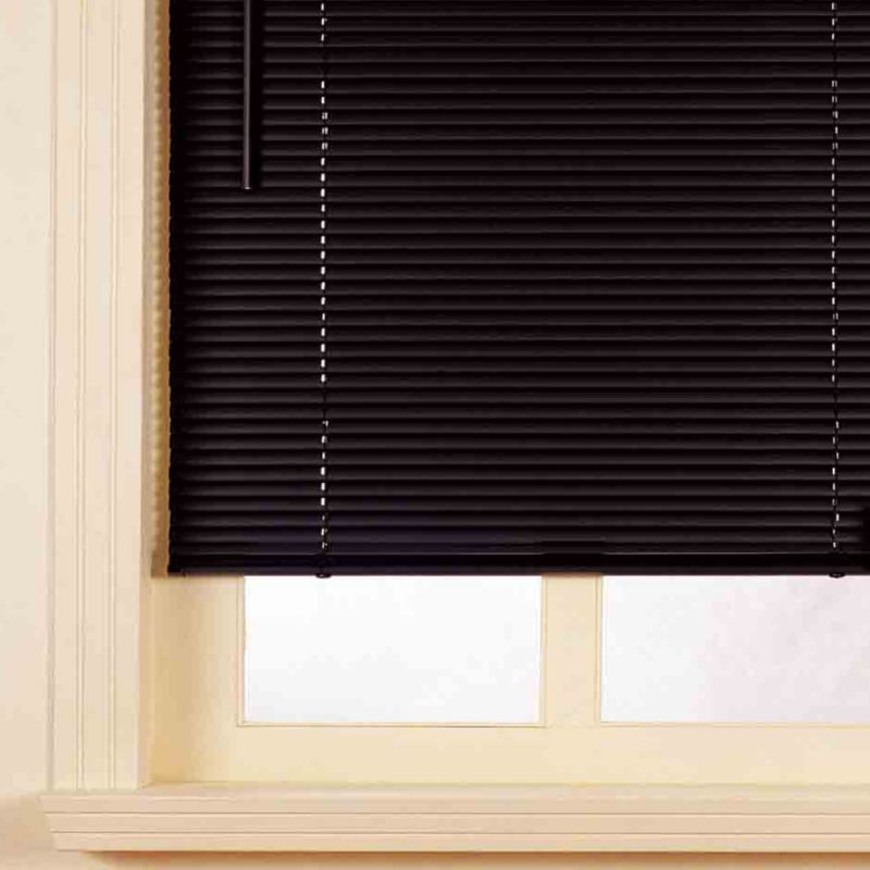 Colours by BandQ PVC Venetian Blind Black
