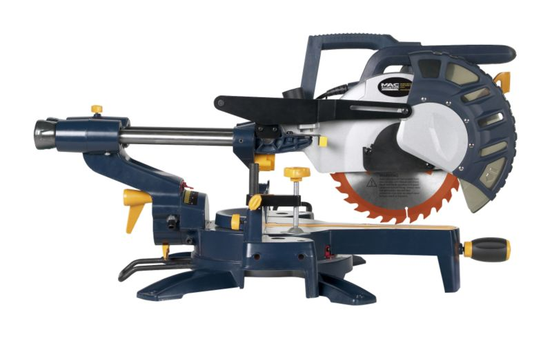 MacAllister Double Bevel Slide Compound Mitre Saw (L)250mm 1800W