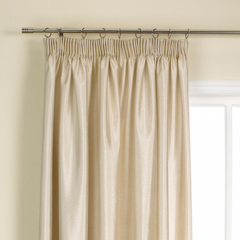 Colours by BandQ Shoana Pleated Curtains Gold
