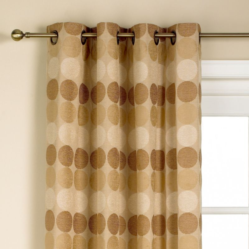 Colours by BandQ Jameson Eyelet Curtains Natural