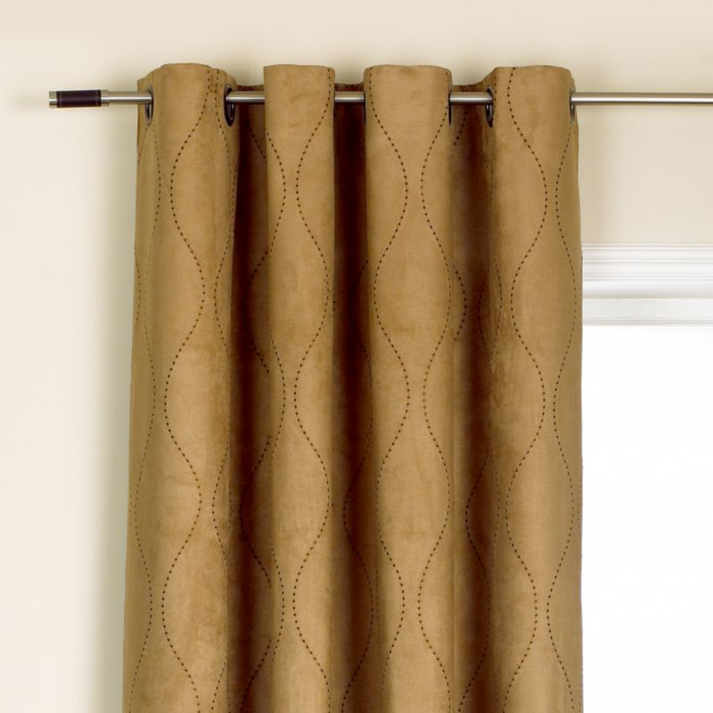 Colours by BandQ Harper Eyelet Curtains Mushroom