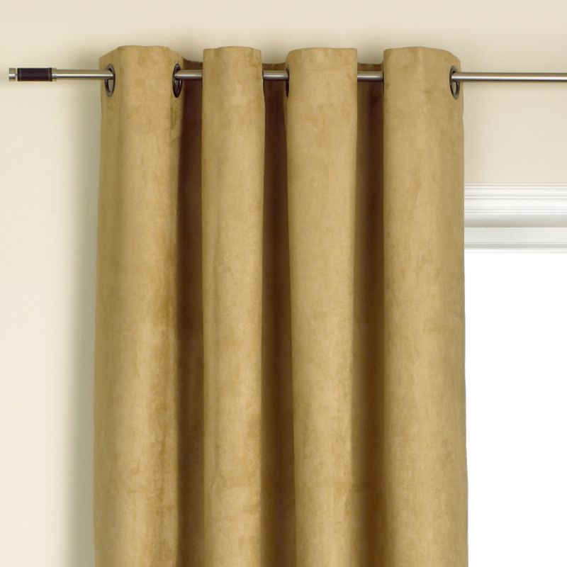 Colours by BandQ Morgan Eyelet Curtains Mushroom