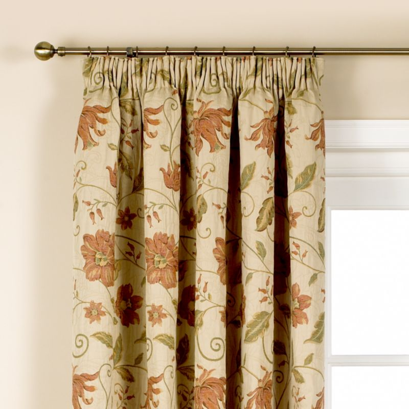 Colours by BandQ Gardenia Pleated Curtains