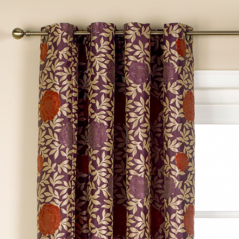Colours by BandQ Lafayette Eyelet Curtains