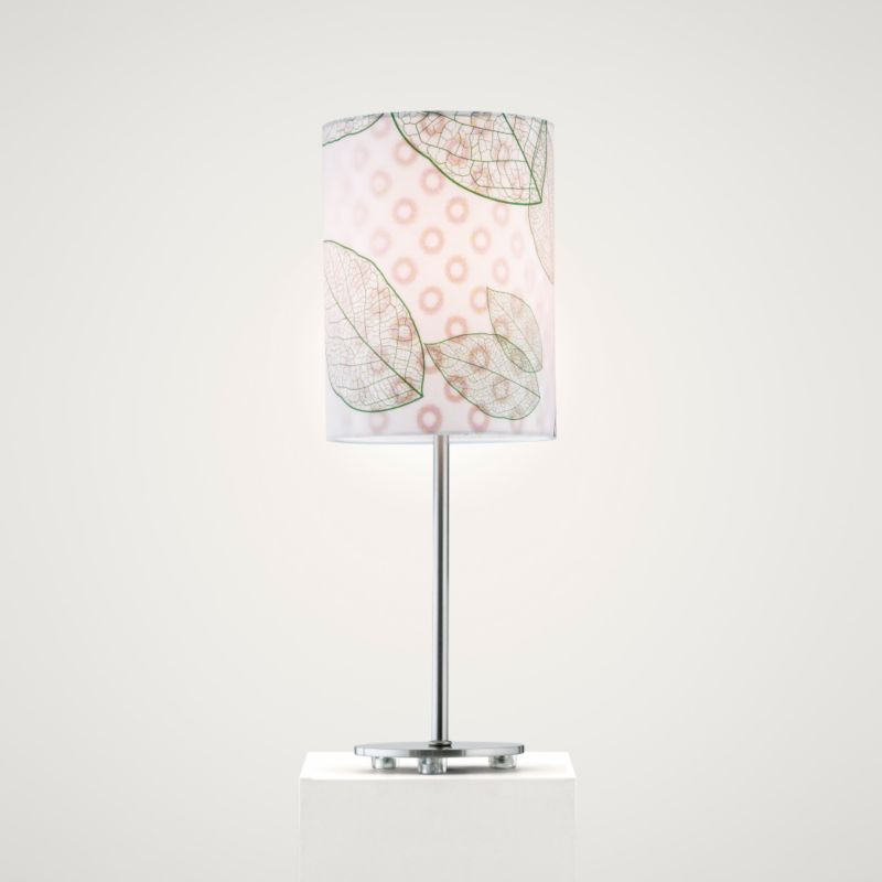 Lights by BandQ Leaf Table Lamp 3D Shade Green